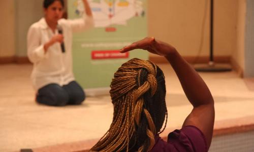 Séance de Sahaja Yoga