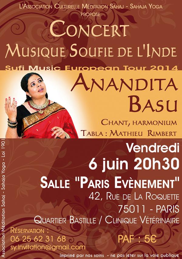 Anandita Basu affiche